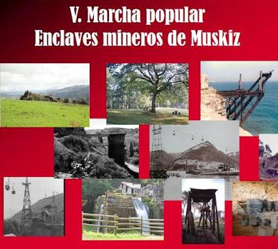 V. Marcha Popular por los enclaves mineros de Muskiz