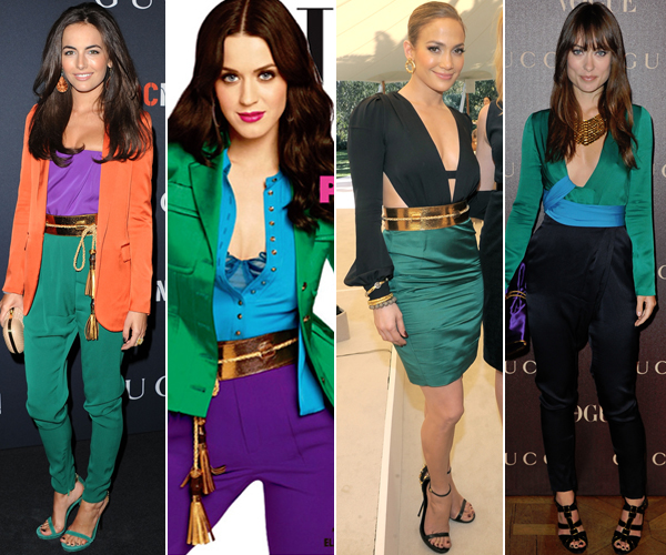 Color Block Dress Trend Krazy Fashion Rocks
