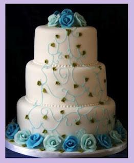 Fotos pasteles de boda flores