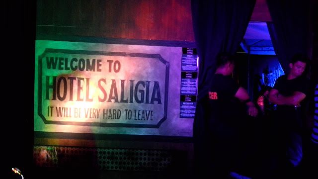 Plan. Solve. Escape. The first real life escape room game in the country, hotel saligia