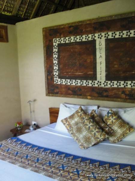 bedroom at Paradise Taveuni in Fiji