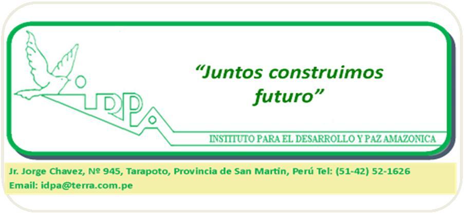 Instituto para el Desarrollo y la Paz Amazonica