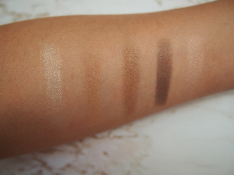 Chanel Fall 2015 Entrelacs Palette swatches