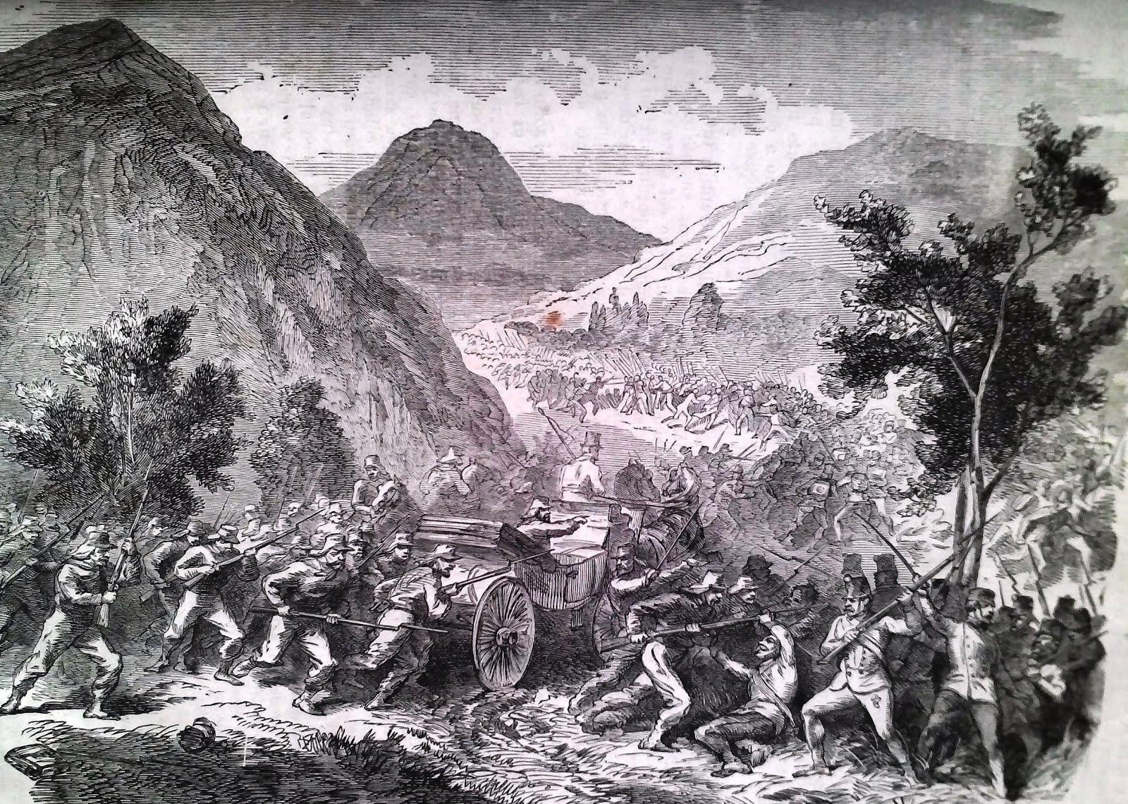 1866 Il Combattimento di Londorone
