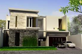 Modern Minimalist House Two Floors Home Design