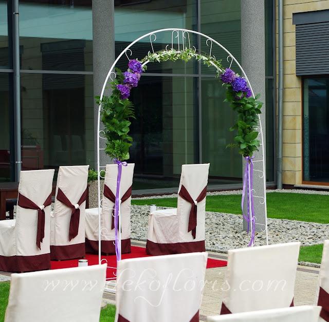 ślub plenerowy Arkas Prószków