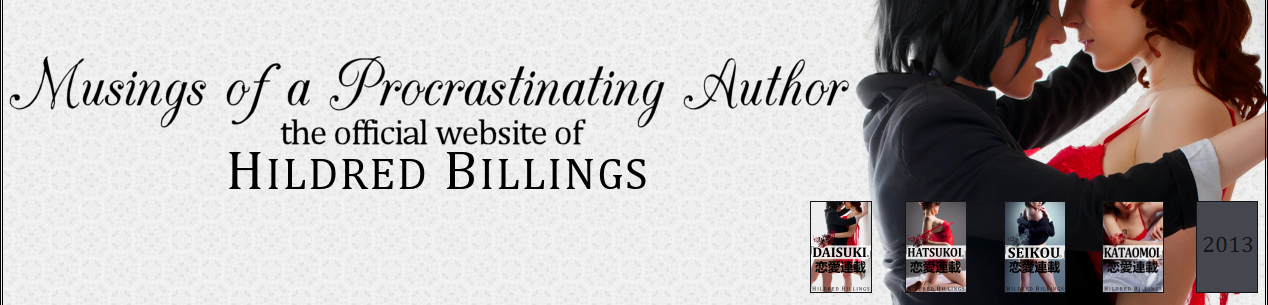 Musings of a Procrastinating Author