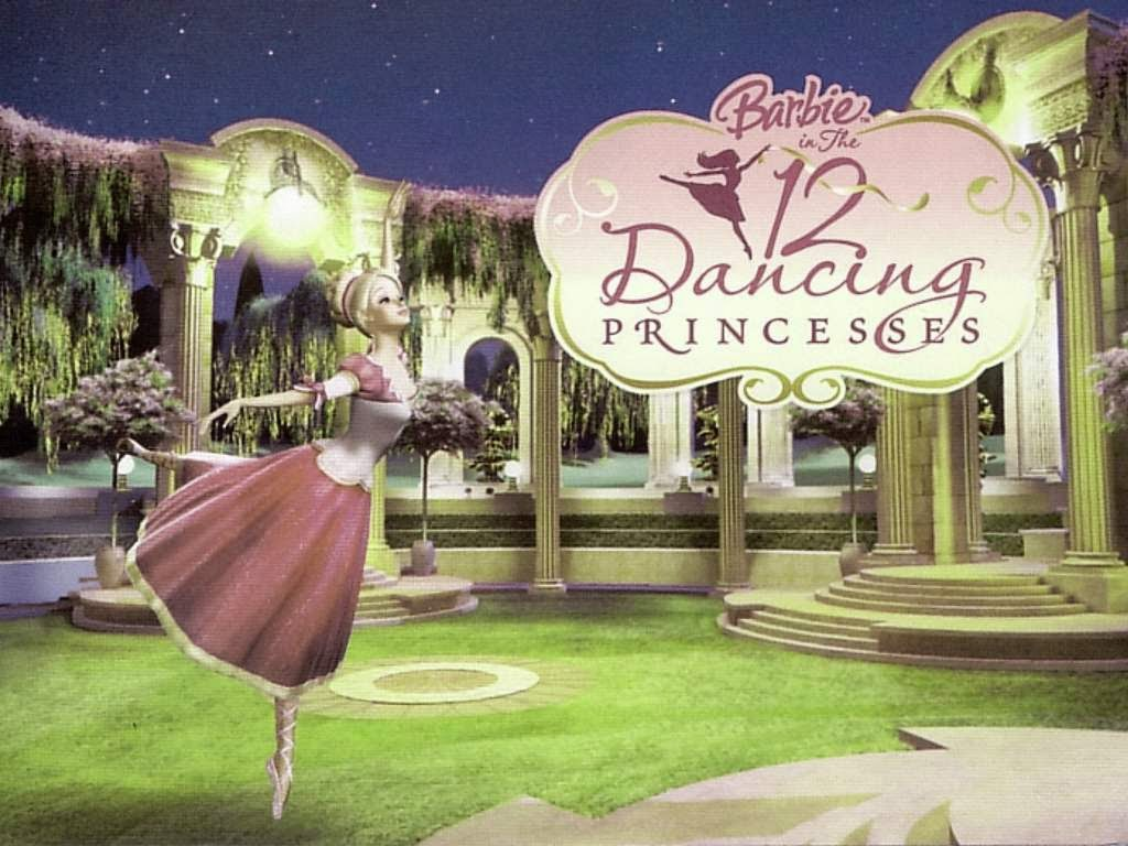 barbie and the 12 dancing princesses wallpapers