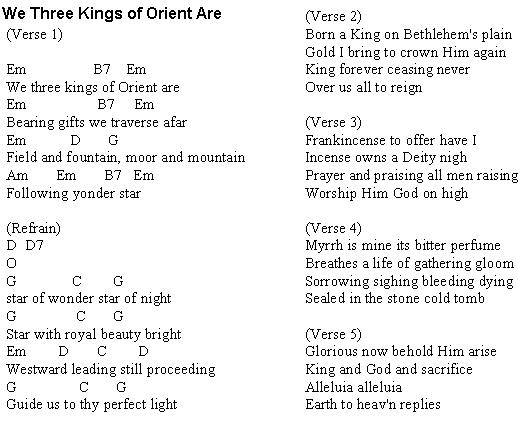 We Three Kings Of Orient Are Christmas Carols Lyrics And History