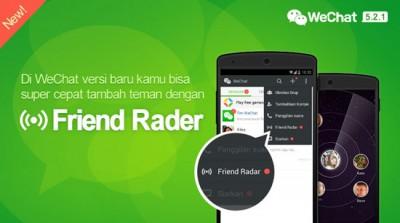 WeChat Rilis Iklan Televisi Friend Radar, Berikan Hadiah Rp 2 Miliar