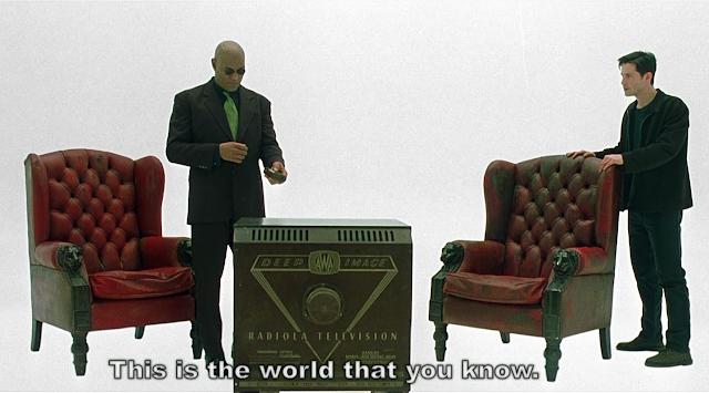morpheus explaining neo the truth
