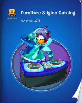 Club Penguin Furniture & Igloo Catalog Cheats November 2015