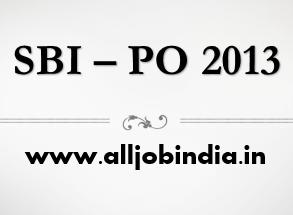 SBI PO 2013