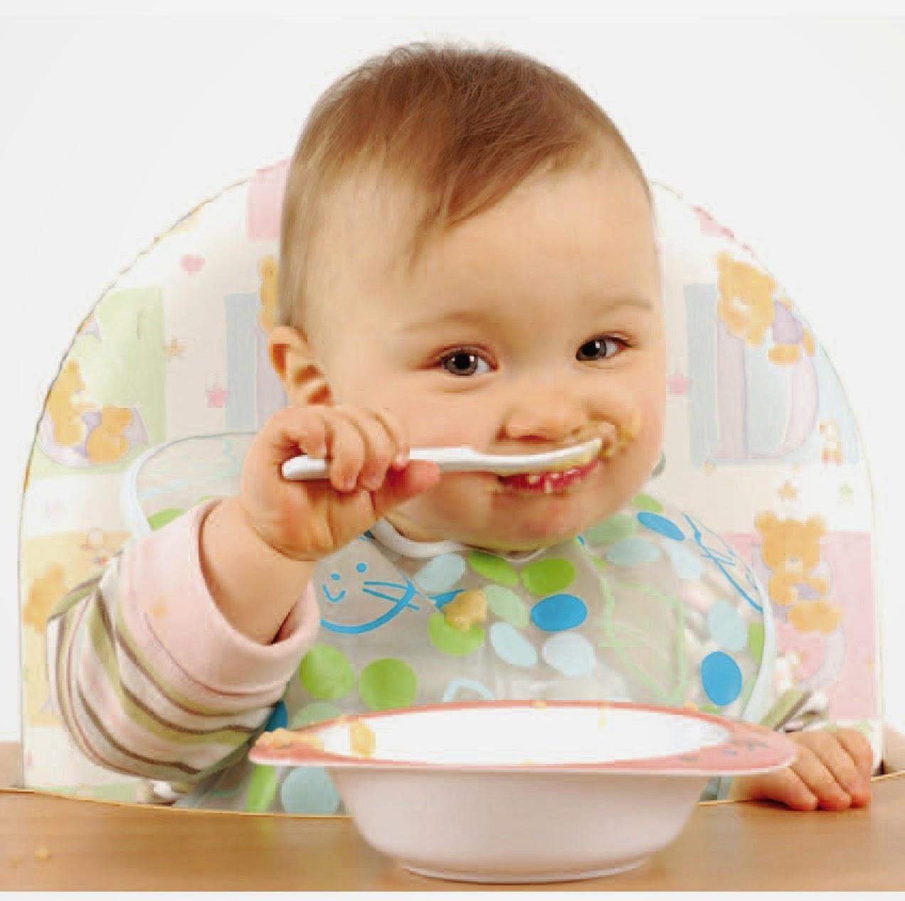 permakanan awal si kecil...