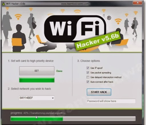 wifi password hack: