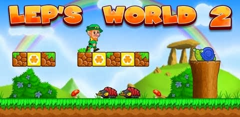 Android Platformer Games, Leps World 2, Leps World 2 download,