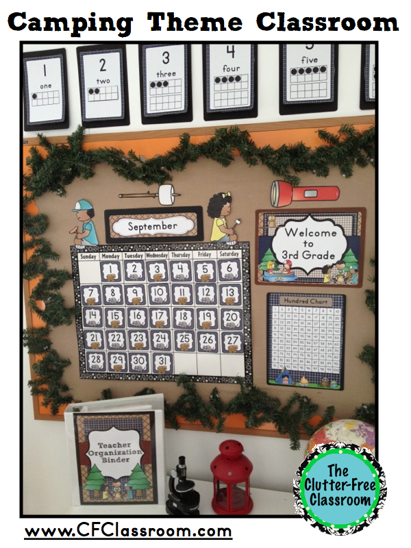 Camping Themed Classroom Decorations ~ Mambiatka english for kids resources teachers and
