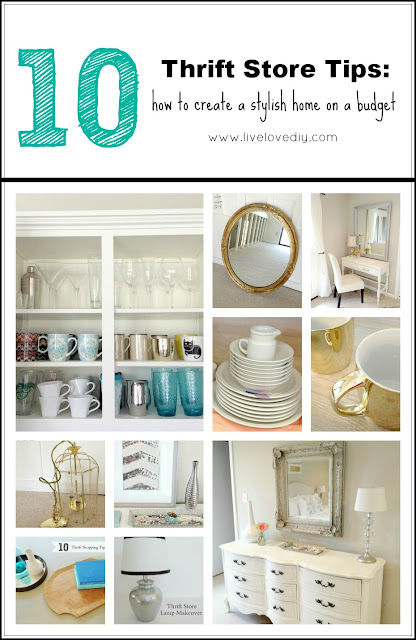 Top 10 Thrift Store Tips: How To Create A Stylish Home On A Budget!