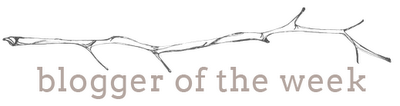 Blogger of the Week - branch