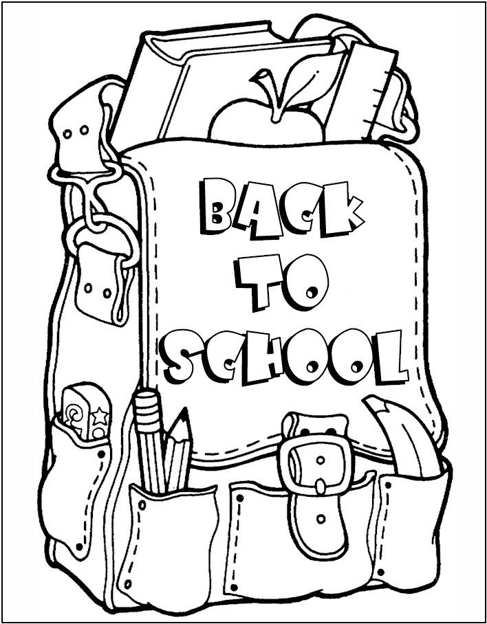 school children coloring pages - photo#34