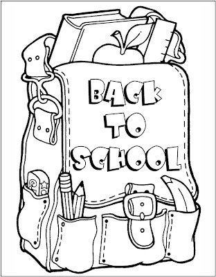 school coloring pages, printable coloring pages
