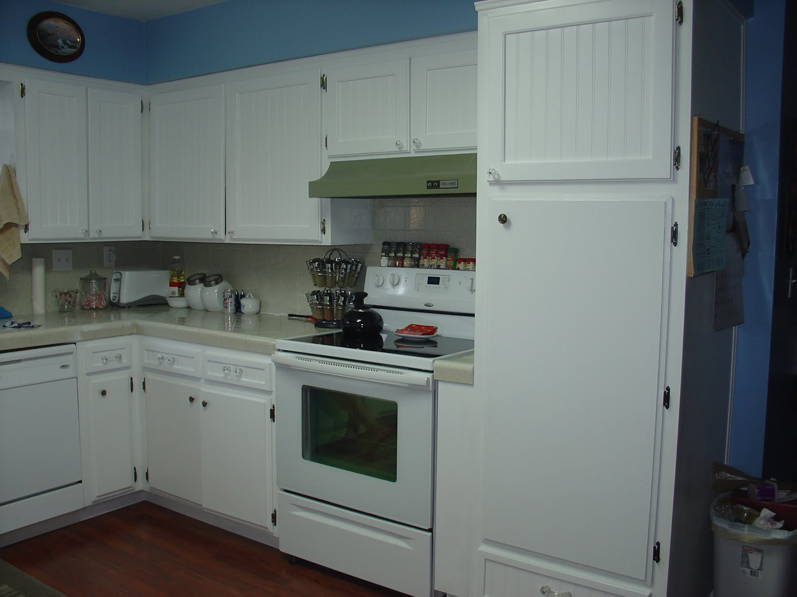 The isaac family my new kitchen cabinet doors - Reface bathroom cabinets and replace doors ...