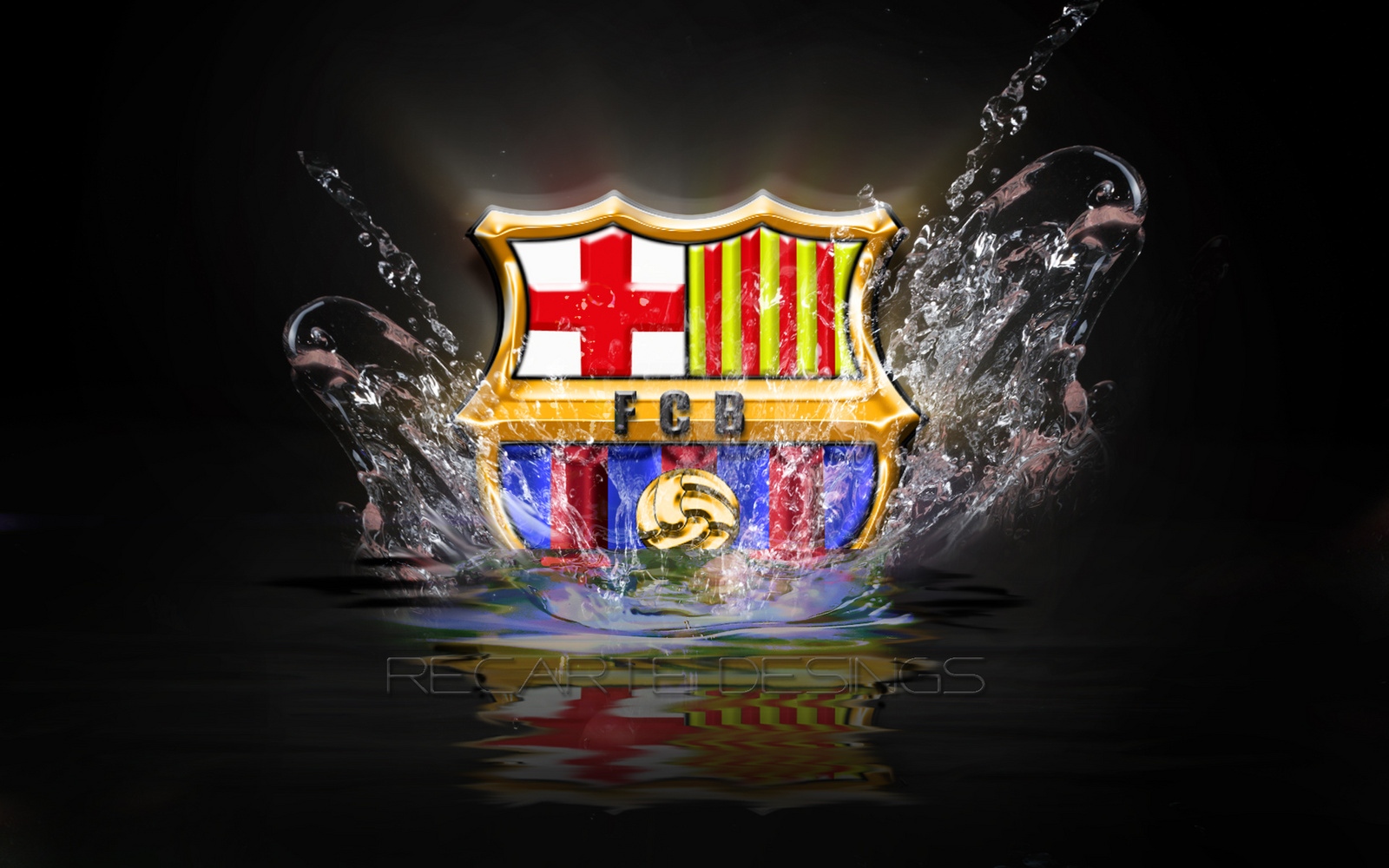 fc barcelona logo hd wallpapers 20132014