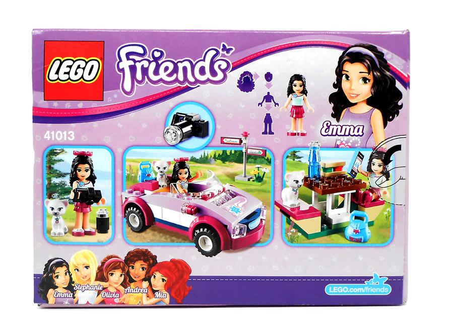 Oz Brick Nation Lego Friends 41013 Emmas Sports Car Review