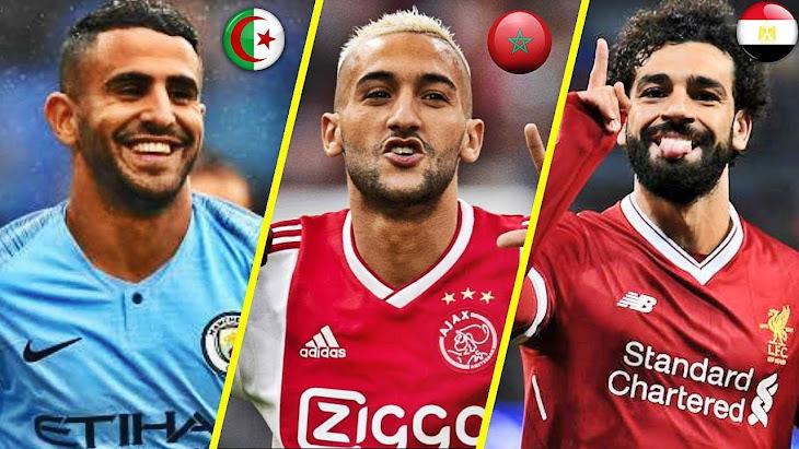 اللاعبون المتميزون العرب