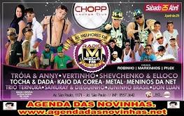 CHOPP LOUNGE CLUB - AS MELHORES DA RÁDIO MEGA FM.