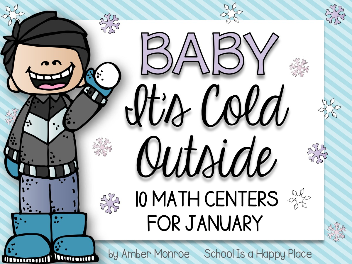 Math Centers for January