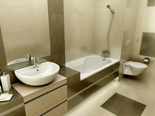 gambar desain interior minimalis desain kamar mandi