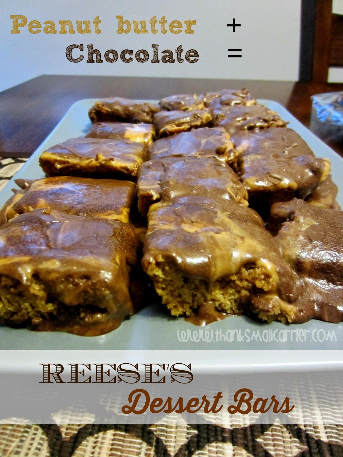 Reese's dessert bars