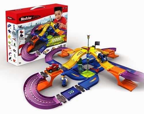 Amazing DOES Excellent alternative to building race tracks and train tracks Can be connected to structural building sets using same system