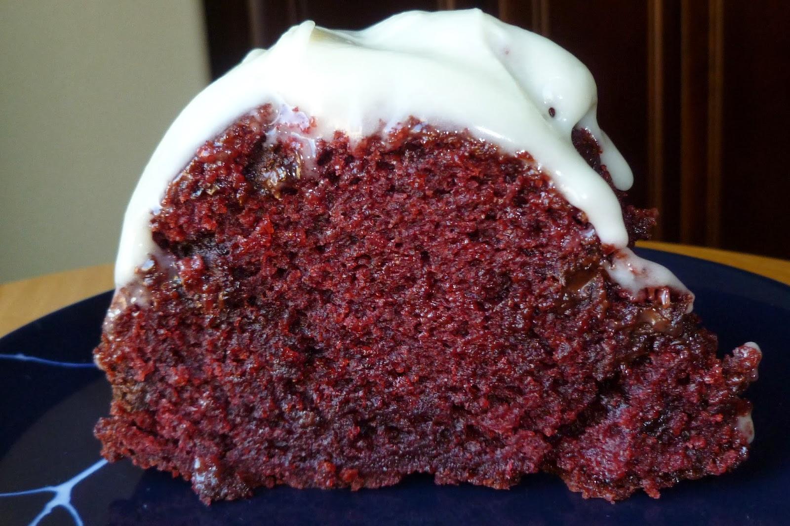 Red Velvet Bundt Cake Without Buttermilk