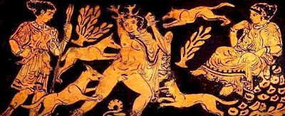 an analysis of the artemis slaying actaeon and woman and maid from ancient greece Ancient greece study guide you will learn how the goddess artemis of the ephesians was another story is of actaeon who had witnessed artemis and her.