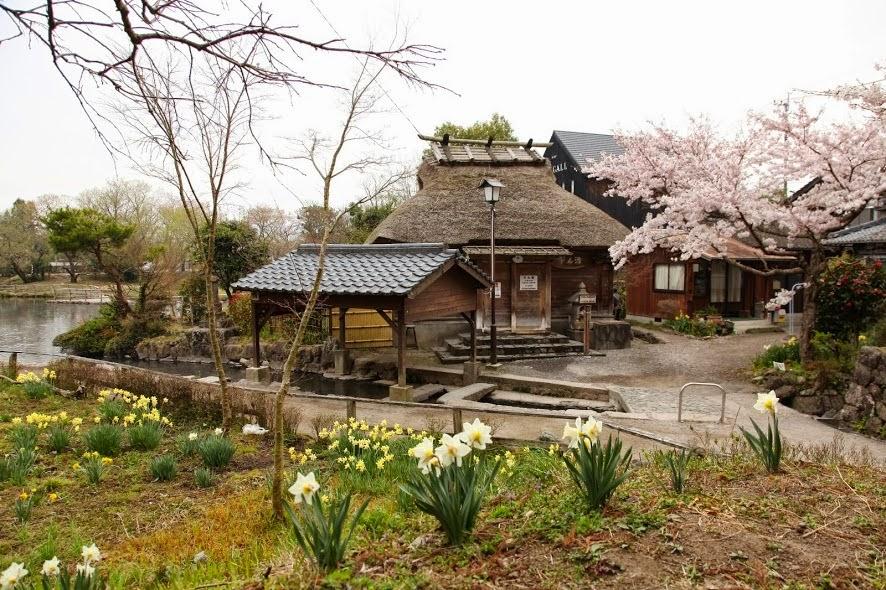 Yufuincho, Oita, Japan.