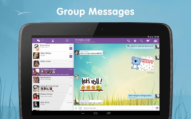 Viber Android Apk Uygulama resimi 5