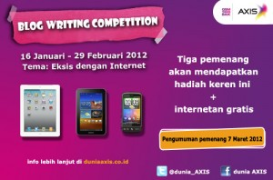 lomba blog axis