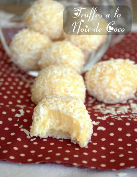 food friday truffes 224 la noix de coco