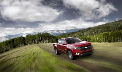 All-New 2015 Chevrolet Colorado Redefines Midsize Trucks