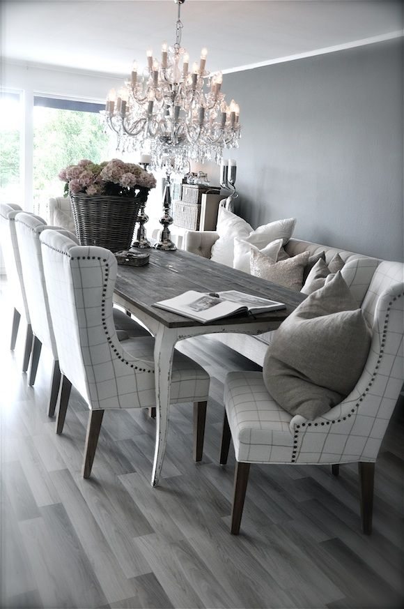 Gray And White Dining Room Ideas Poni Ej Kilka Uj Salonu Camilli Z Villi Paprika Ma Naprawd