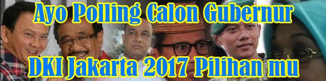 Polling Calon Gubernur DKI Jakarta 2017
