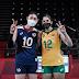 Natalia e Kim se encontram nas Olimpíadas