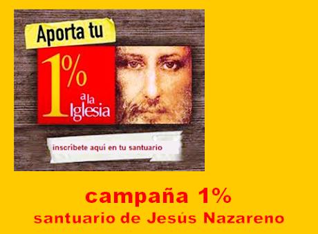 1 % A NUESTRO SANTUARIO