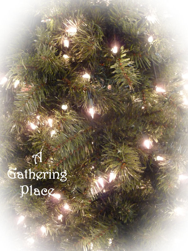 gathering place how to paint your christmas tree winter white. Black Bedroom Furniture Sets. Home Design Ideas