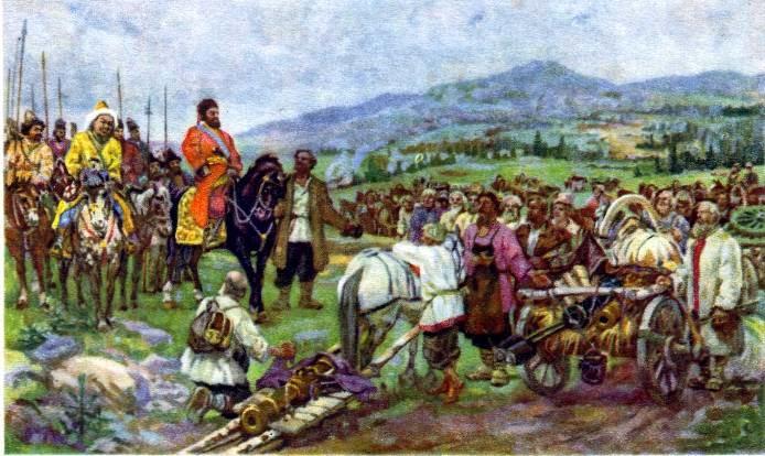 Крестьянская война под руководством е.и.пугачёва