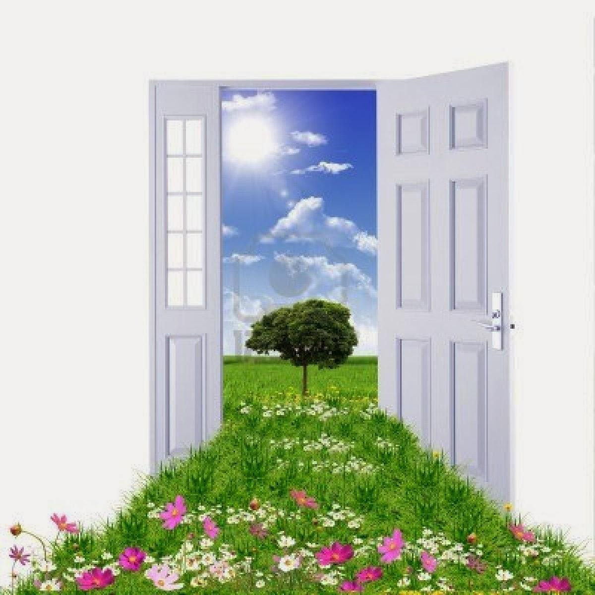 Open Door Welcome : Open door policy clipart