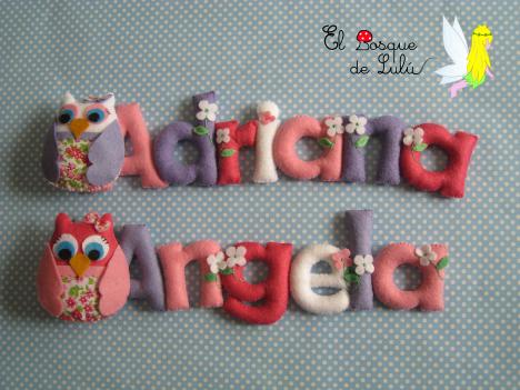 nombre-en-fieltro-decoración-infantil-personalizada-hecho-a-mano-name-banner-detalle-nacimiento-Adriana-Ángela.