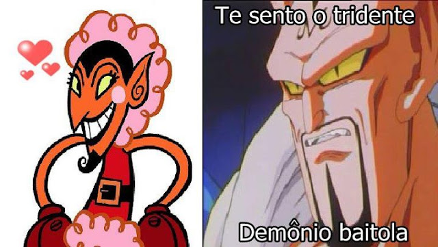 te sento a vara, dragon ball z, elle